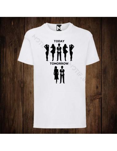 Тениска Motif Today Tomorrow