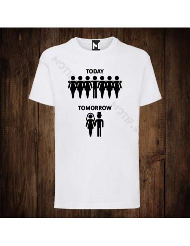 Тениска Motif Today Tomorrow v2