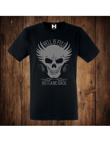 Тениска Motif Hell is full v2