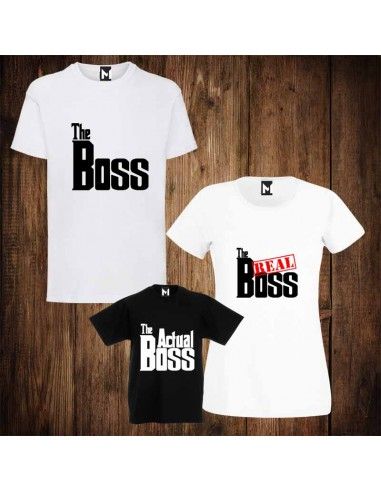 Тениски Motif The Boss The Real Boss...