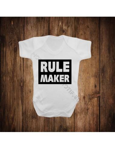 Бебешко боди Rule maker