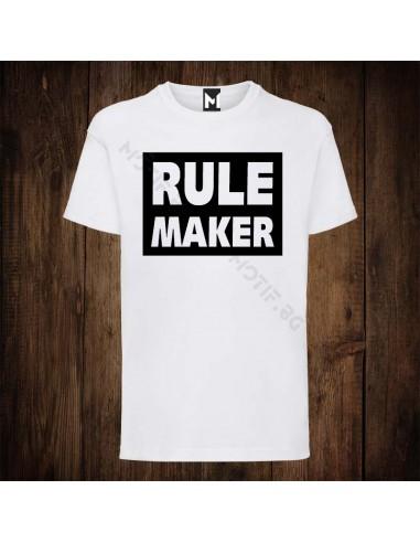 Тениска Motif Rule Maker