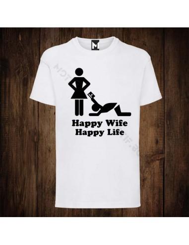 Тениска Motif Happy wife