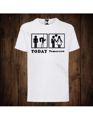 Тениска Motif Today/tomorrow